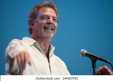 LINCOLN, CA - AUGUST 10: Stand-up comedian Bill Engvall performs at Thunder Valley Casino Resort on August 10, 2013 in Lincoln, California.