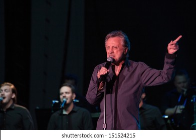 LINCOLN, CA - AUGUST 17: Frankie Valli performs at Thunder Valley Casino Resort on August 17 in Lincoln, California.