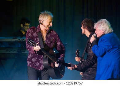 LINCOLN, CA - DEC 30: Air Supply performs at Thunder Valley Casino Resort in Lincoln, California on December 30, 2012