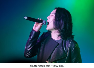LINCOLN, CA - FEBRUARY 24: Eddie Shin with Aziatix performs at Thunder Valley Casino Resort in Lincoln, California on February 24, 2012