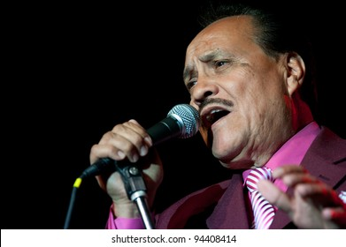 LINCOLN, CA - FEBRUARY 3: Arturo Cisneros Y sus Freddy's performs at Thunder Valley Casino Resort in Lincoln, California on February 3, 2012