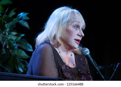 LINCOLN, CA - JAN 17: Psychic Sylvia Browne performs at Thunder Valley Casino Resort in Lincoln, California on January 17, 2013