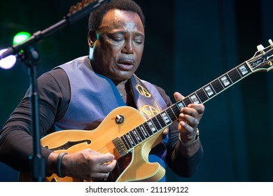 LINCOLN, CA - July 26: George Benson performs at Thunder Valley Casino Resort in Lincoln, California on July 26, 2014