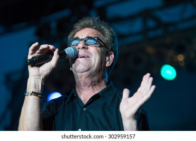 LINCOLN, CA - July 31: Huey Lewis and The News performs at Thunder Valley Casino Resort in in Lincoln, California on July 31, 2015