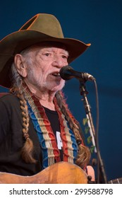 LINCOLN, CA - June 17: Willie Nelson performs at Thunder Valley Casino Resort in in Lincoln, California on June 17, 2015