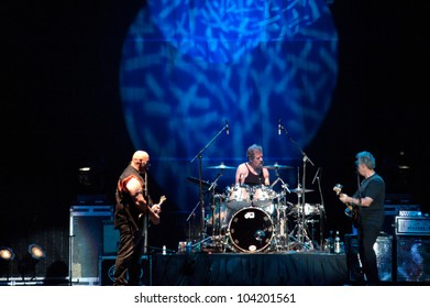 LINCOLN, CA - JUNE 2: Creedence Clearwater Revisited performs at Thunder Valley Casino Resort in Lincoln, California on June 2, 2012