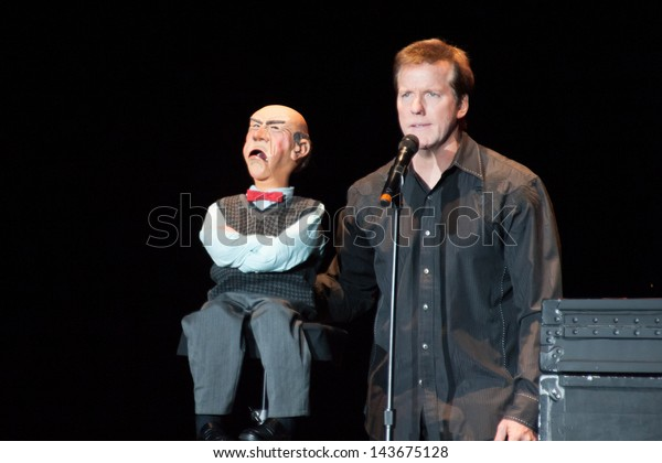 LINCOLN, CA - June 21: Jeff Dunham performs with Walter at Thunder Valley Casino Resort in Lincoln, California on June 21, 2013