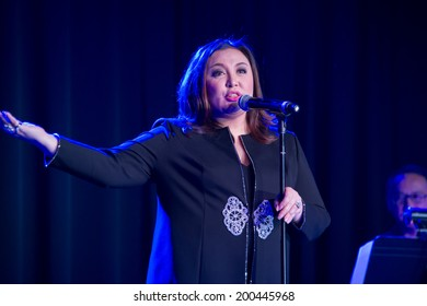 LINCOLN, CA - June 22: Filipino actress and singer Sharon Cuneta performs at Thunder Valley Casino Resort in Lincoln, California on June 22, 2014