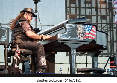 LINCOLN, CA - June 22: Peter Pisarczyk with Lynyrd Skynyrd performs at Thunder Valley Casino and Resort in Lincoln, California on June 22, 2013