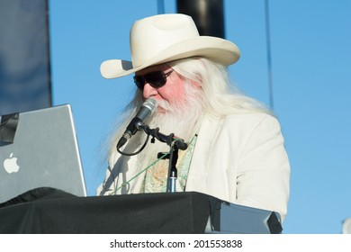 LINCOLN, CA - June 29: Leon Russell performs at Thunder Valley Casino Resort in Lincoln, California on June 29, 2014