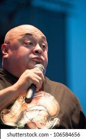 LINCOLN, CA - JUNE 30: Rick Gutierrez performs at Thunder Valley Casino Resort in Lincoln, California on June 30, 2012