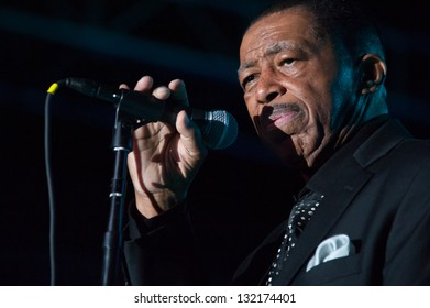 LINCOLN, CA - MARCH 15: Ben E King performs at Thunder valley Casino Resort in Lincoln, California on March 15, 2013