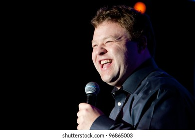 LINCOLN, CA - MARCH 2: Frank Caliendo performs at Thunder Valley Casino Resort in Lincoln, California on March 2, 2012