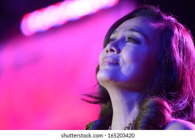 LINCOLN, CA - November 24: Kuh Ledesma from the cast My Husband's Lover performs in their US concert tour 'One More Try' at Thunder Valley Casino Resort in Lincoln, California on November 24, 2013