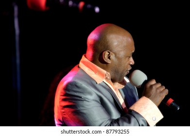 LINCOLN, CA - OCT 28: Bo Watson with Midnight Star performs at Thunder Valley Casino and Resort on October 28, 2011 in  Lincoln, California.