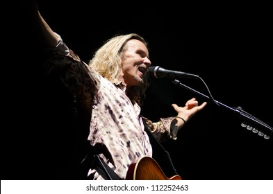 LINCOLN, CA - SEPT 6: Tommy Shaw with Styx performs at Thunder Valley Casino Resort in Lincoln, California on September 6th, 2012