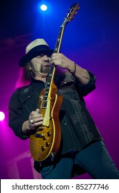 LINCOLN, CA - September 22nd: Gary Rossington with Lynyrd Skynyrd performs at Thunder Valley Casino and Resort in Lincoln, California on September 22nd, 2011