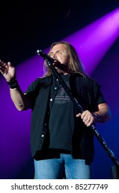 LINCOLN, CA - September 22nd: Johnny Van Zant with Lynyrd Skynyrd performs at Thunder Valley Casino and Resort in Lincoln, California on September 22nd, 2011