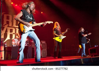 LINCOLN, CA - September 22nd: Lynyrd Skynyrd performs at Thunder Valley Casino and Resort in Lincoln, California on September 22nd, 2011
