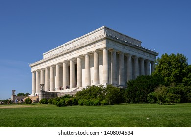 The Lincoln Memorial is a memorial built to honor the 16th President of the United States, Abraham Lincoln and is located on the western end of the National Mall in Washington, D.C.
