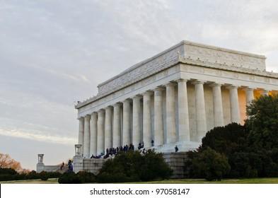 Lincoln Memorial in the evening, Washington DC USA