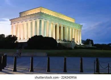 Lincoln Memorial at night - Washington D.C. United States of America