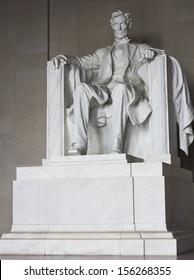 Lincoln memorial statue, Washington, DC, the United States