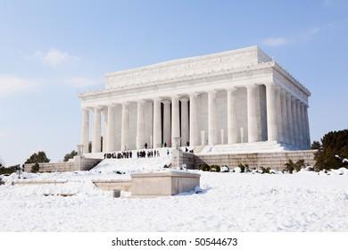The Lincoln Memorial in Washington