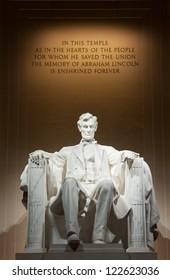 Lincoln Memorial Washington DC