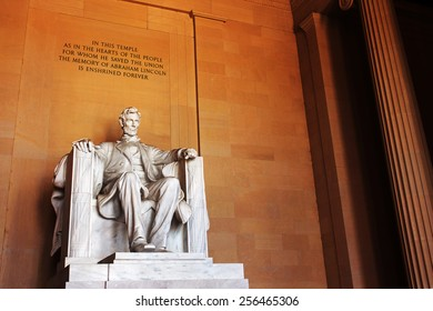 Lincoln Memorial, Washington DC, USA.