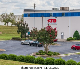 LINCOLNTON, NC, USA-9/2/18: ATD, American Tire Distributors warehouse-supplying tires, wheels, service equipment and shop supplies to tire dealers.