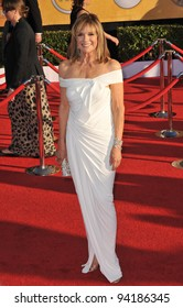 Linda Grey at the 17th Annual Screen Actors Guild Awards at the Shrine Auditorium, Los Angeles. January 29, 2012  Los Angeles, CA Picture: Paul Smith / Featureflash