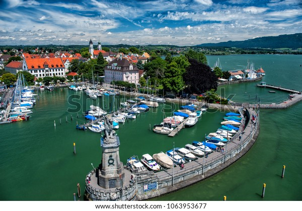 Lindau, Bavaria, view from the tower