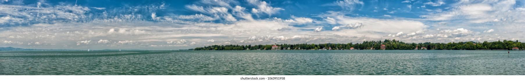 Lindau lake in Bavaria