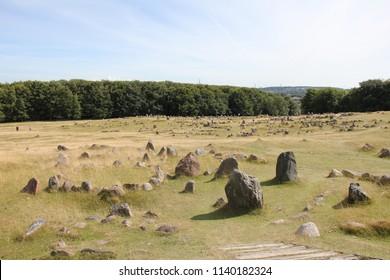 Lindholm Høje, Denmark. Viking burial site.
