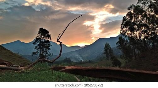 Lindo paisagem respeito natureza amor
