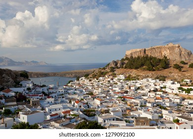 Lindos, Rhodes Island, Dodecanese Islands, Greece