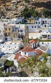 Lindos town view
