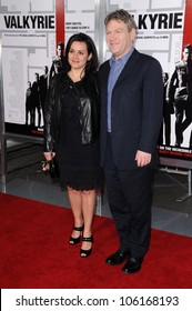 Lindsay Brunnock and Kenneth Branagh   at the Los Angeles Premiere of 'Valkyrie'. The Directors Guild of America, Los Angeles, CA. 12-18-08