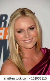 Lindsey Vonn at the 17th Annual Race To Erase MS, Century Plaza Hotel, Century City, CA 05-07-10