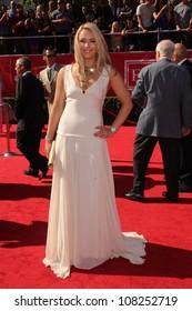 Lindsey Vonn at the 2012 ESPY Awards Arrivals, Nokia Theatre, Los Angeles, CA 07-11-12