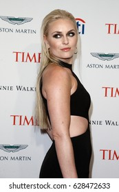 Lindsey Vonn attends the Time 100 Gala at Frederick P. Rose Hall on April 25, 2017 in New York City.