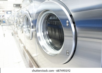 Commercial Laundry Equipment Images, Stock Photos & Vectors