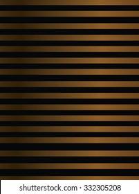 Line design in metallic bronze shades.