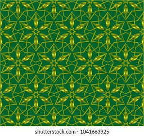 Line pattern collection, brochure, flyer in arabian style. Geometric backgrounds with repeating texture. Ethnic arabic, indian  cover