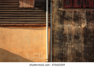 The line and pattern color abstract of building fine art photography