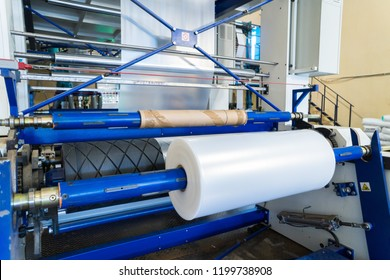 line for the production of polyethylene or polypropylene bags