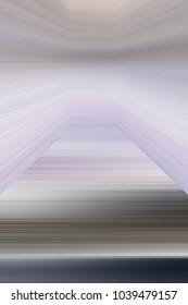 Line volumetric background blur design corridor strange