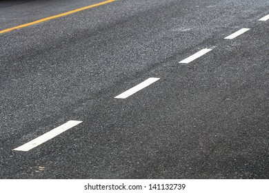Line way of street road