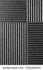 Linear Ridged Metallic Background of rectangular block shapes